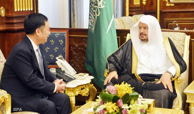 Saudi Shoura Council chairman receives China ambassador